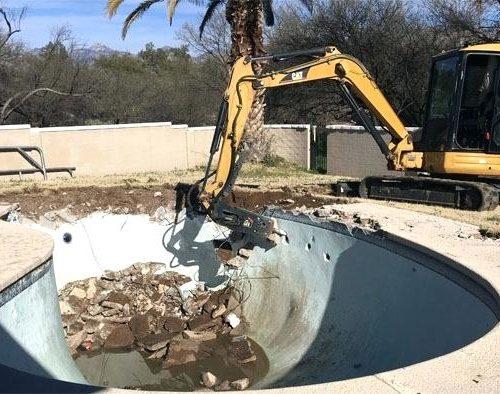 Inground Pool removal