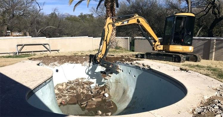 Inground Pool removal