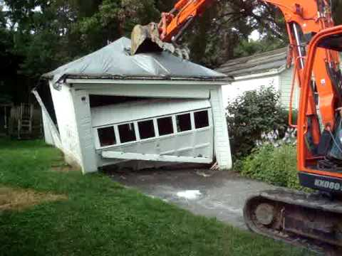 garage demolition works