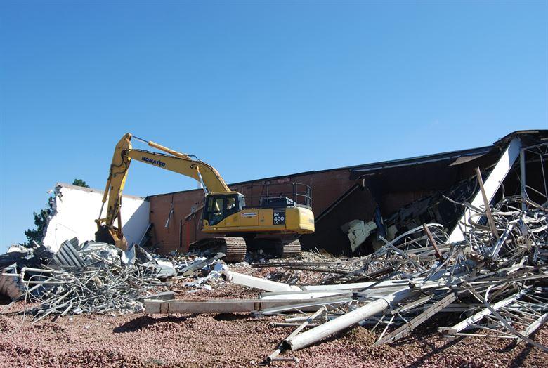 Murray Building deconstruction