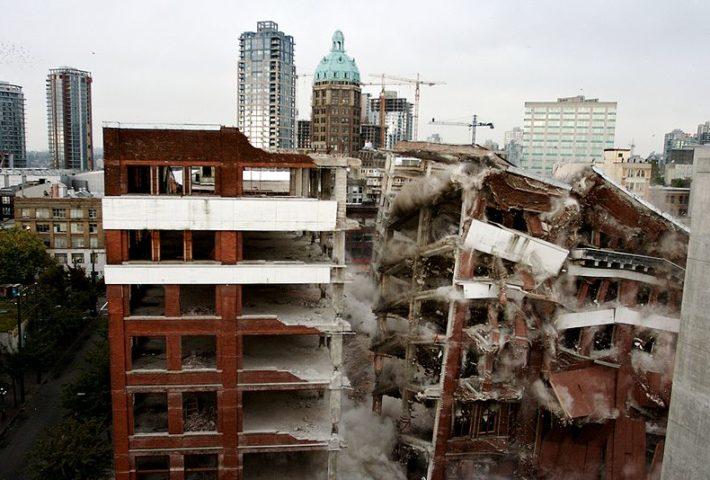 Explosive Demolition. Full service demolition