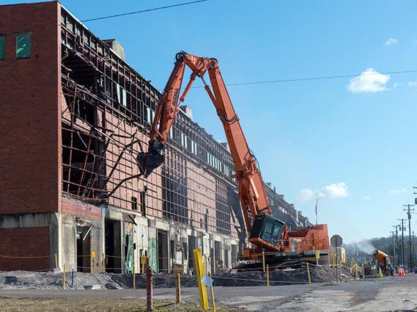 Large Building Demolition Services
