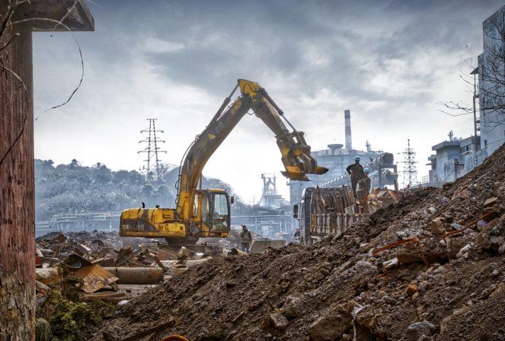 safe demolition of buildings