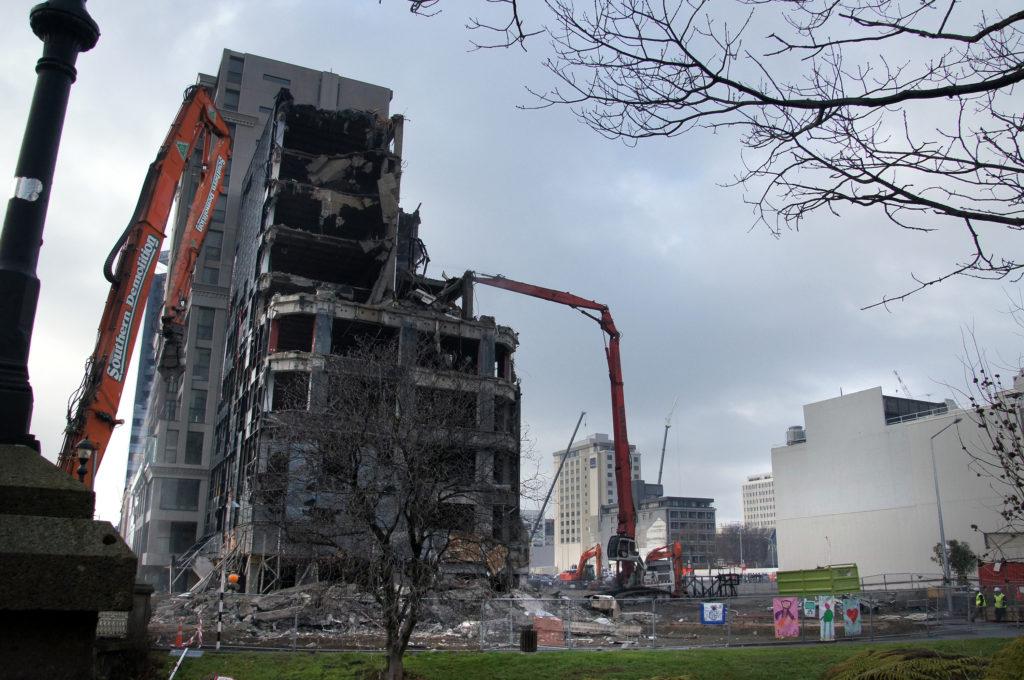 building deconstruction