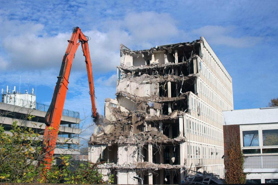 Murray Demolition providing demolition services
