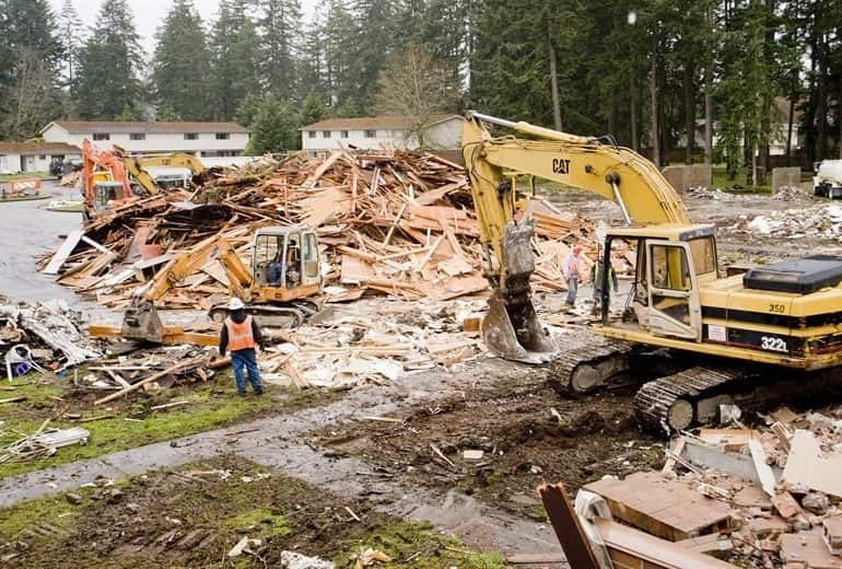 demolition costs per square foot, residential