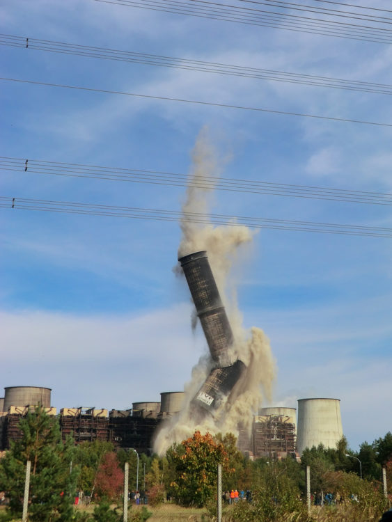 Industrial Chimney Demolition services