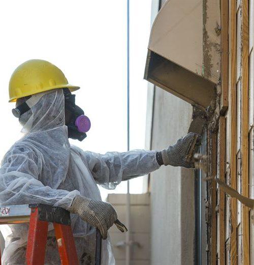 Asbestos Removal works
