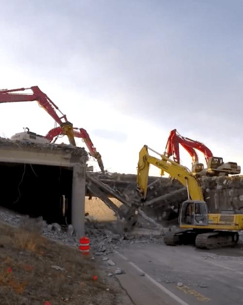 Bridge Demolition services
