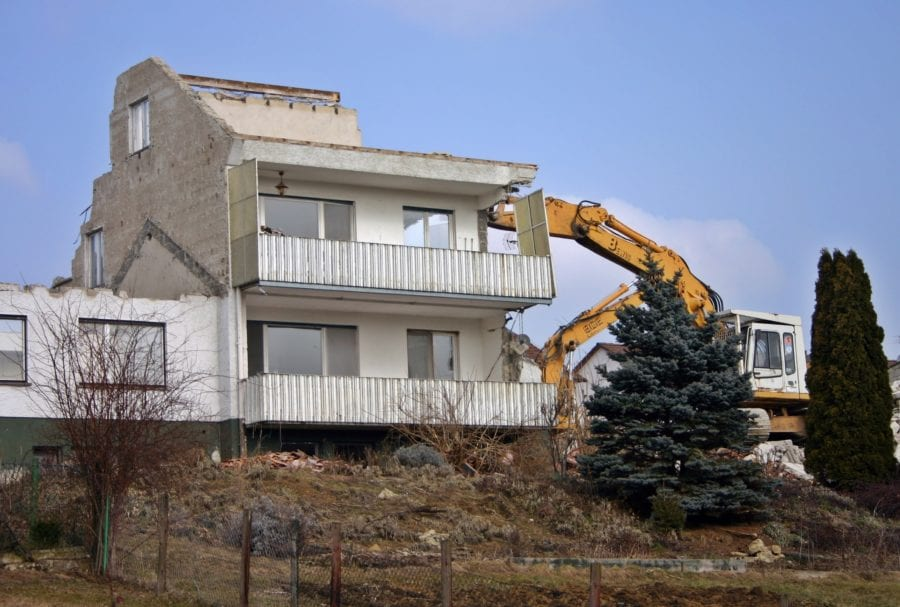 residential demolition process services