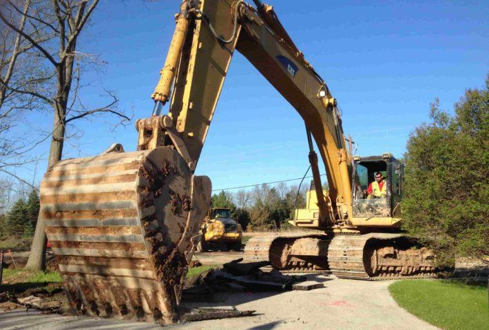 Manual demolition