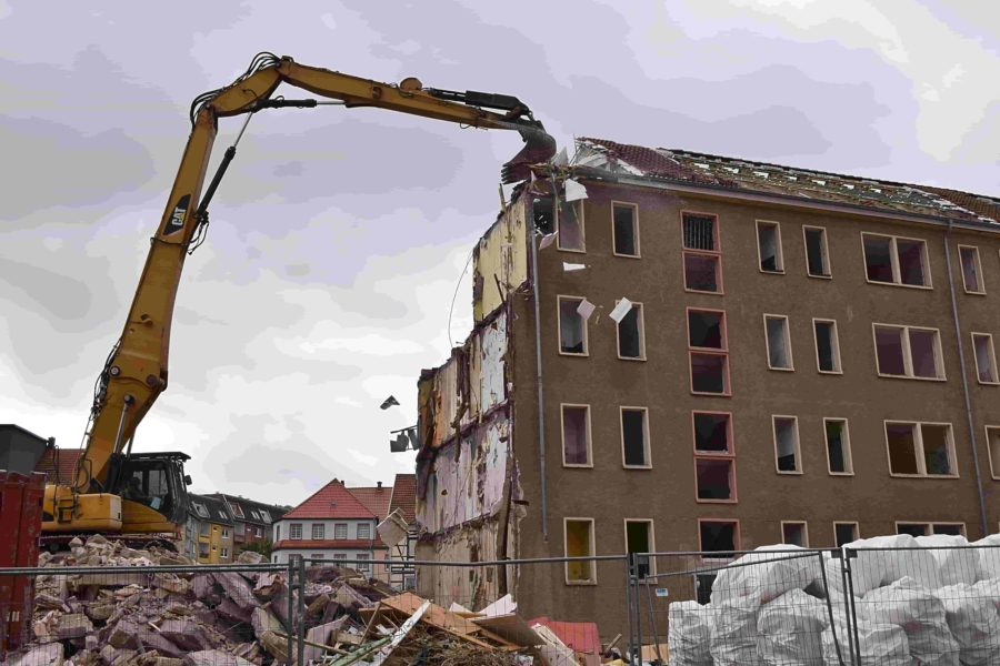 commercial demolition projects