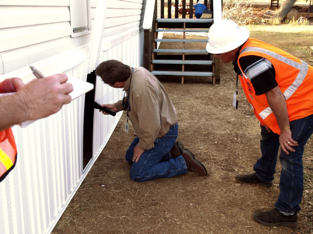 inspections for a building construction