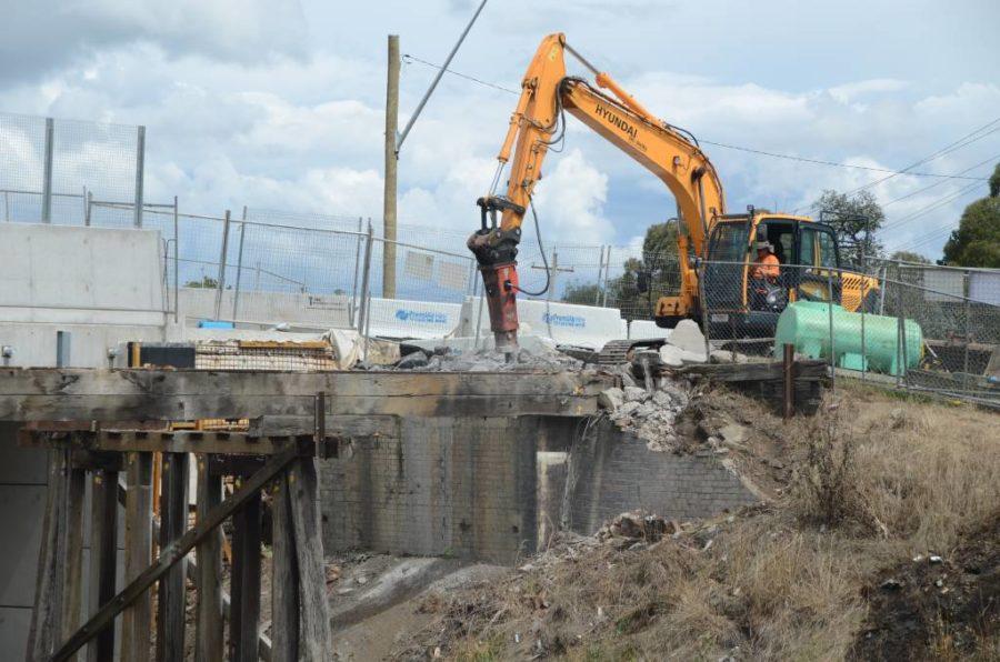 Murray Demolition bridge demolition works