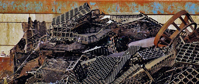 The scrap metal recycling industry