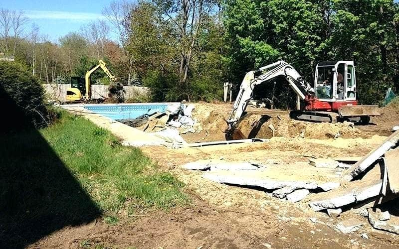 Above Ground Pool Removal projects
