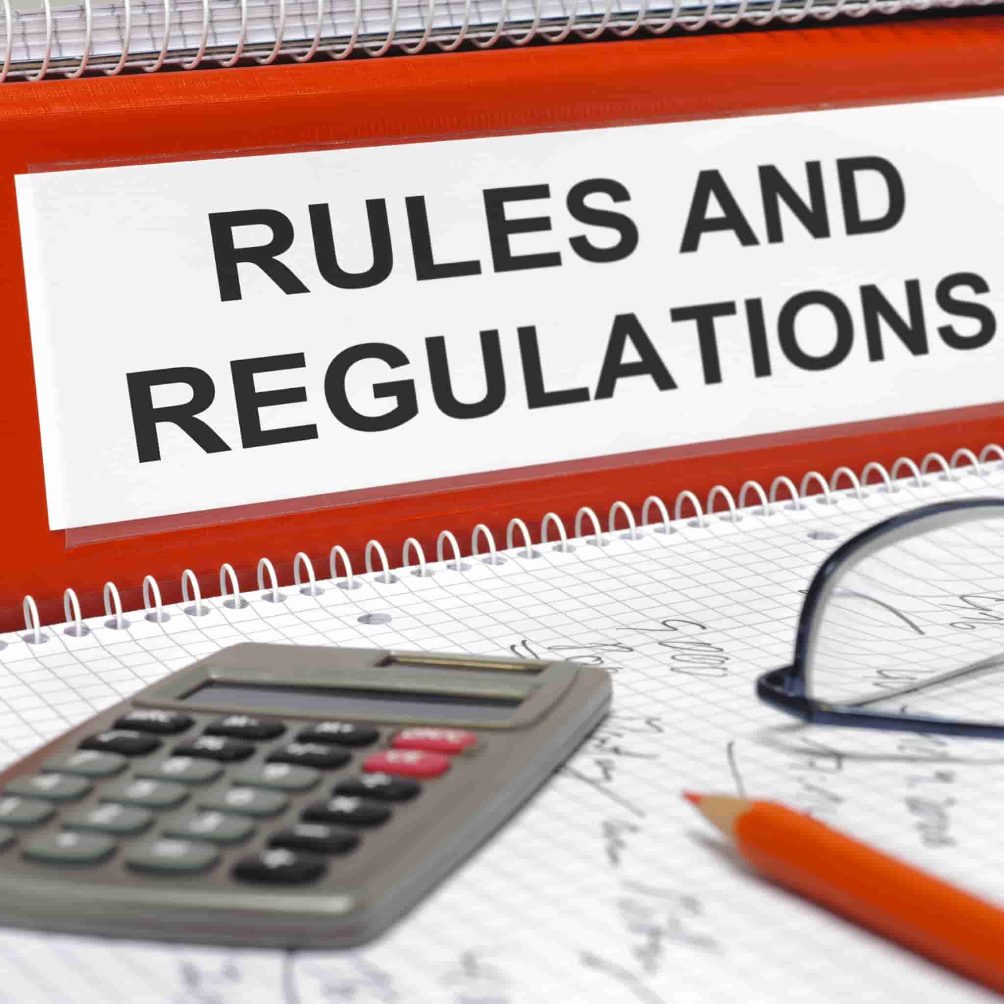 regulations & rules