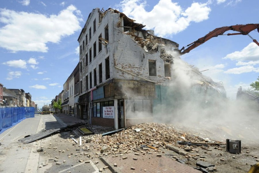 Selective Demolition of Historic Buildings